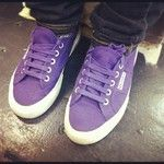 Purple Superga's