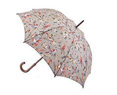 Fulton Dámský holový deštník Kensington 2 British Birds Grey L541