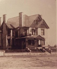 Molly Brown's Capitol Hill home in a late-19th-century photograph. (Western History Department   Denver Public Library)