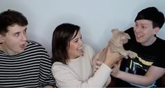 Catrific's video Dan and Phil Play with My New Puppy!!!