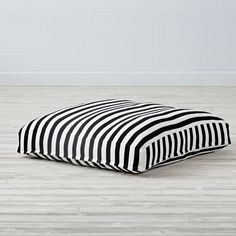 Black and White Knit Teepee Cushion | The Land of Nod