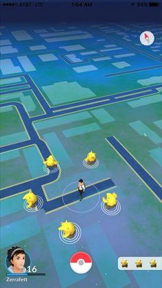 10 Priceless Screenshots Taken From Pokémon GO's Overworld Map