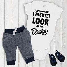 Baby Onesie Fathers Day Gift Baby Onesie Baby Outfit Onesie Baby Clothes Baby Boy Onesie Baby Girl Onesie Pregnancy Onesie Oh Baby! Fashion Kids, Baby Boy Fashion, Fashion 2016, Latest Fashion, Fall Fashion, Womens Fashion, Outfits Niños, Kids Outfits, Fashion Outfits