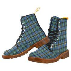 Tartan Boot – Campbell Dress Ancient Martin Boot – Your Tartan Clan Buchanan, Clan Macdonald, Campbell Clan, Clan Macleod, Floral Combat Boots, Large Leather Tote Bag, Faux Fur Boots, Martin Boots, Tartan