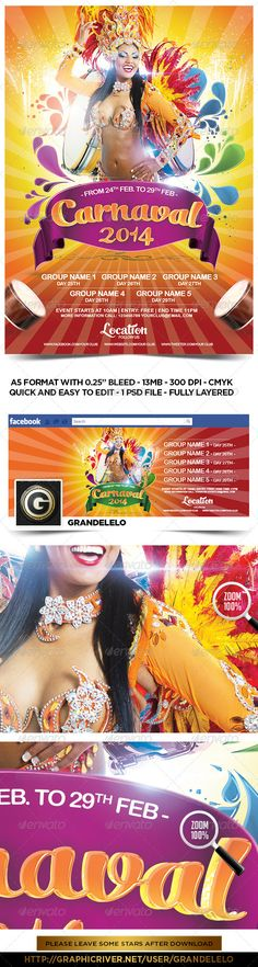 Carnival 2014 Flyer Template