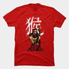 Monkey King T Shirt By StevenToang Design By Humans
