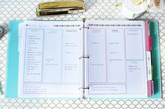 BEST PLANNER PRINTAVLE I HAVE FOUND! Organizing My Week | Just a Girl and Her…