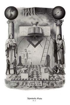 Masonic Litho