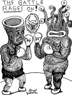 daniel johnston drawings - Google Search