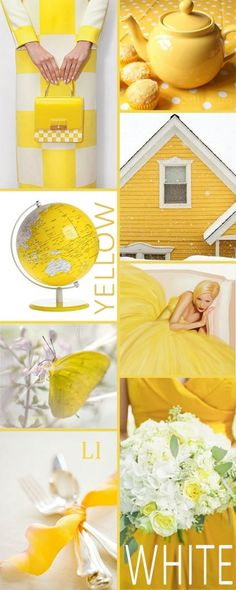 ~ Yellow & White