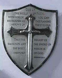 Decorative Armor of God Ephesians Wall Plaque: Armor of God wall plaque. Displays Ephesians Made of resin/stone mix. 16 Tattoo, God Tattoos, Warrior Tattoos, Samoan Tattoo, Polynesian Tattoos, Tattoo Ink, Sleeve Tattoos, Armor Of God Tattoo, Norse Tattoo