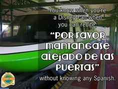 10 Sayings Only Disney World Fans Would Understand | PassPorter Blogs