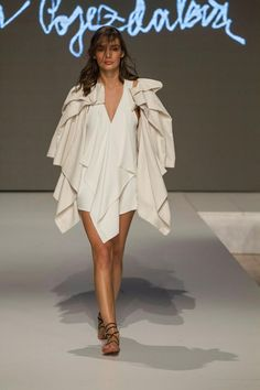 Collection of Andrea Pojezdálová presented during Fashion LIVE! High Low, Live, Collection, Dresses, Fashion, Gowns, Moda, La Mode, Dress