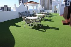 Artificial Grass  Rooftop at Marrakesh Apartments Surfers Paradise  The beautiful artificial turf colour Bowls Green is Suitable as a floor covering or for a cricket pitch with a short 9mm weave and dense pile. Installed on the beautiful rooftop of the Marrakesh Apartment building in the heart of Surfers Paradise. The perfect oasis in a busy city with ocean views. Turf  proudly Australian owned and manufactured Artificial Turf is proudly Australian owned and the synthetic grass surfaces is…