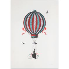 This reminds me of a cross between Mary Poppins and this book I used to read as a kid-- the 21 Balloons