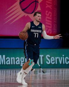 """Luka Doncic on Instagram: """"Bounce back!! glad to be out there again!! #mffl #bubble 🙏✊"""""""