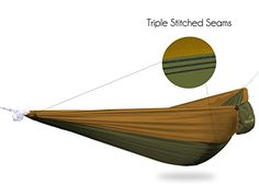1 best ultralight camping hammock   for travel backpacking hiking and beach   parachute fabric   portable only 13oz   single person hammocks   by the     neolite single camping hammock   lightweight portable nylon      rh   pinterest