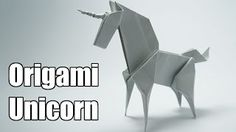 Origami Unicorn (Jo Nakashima) WATCH THE NEW UNICORN TUTORIAL! I made some improvements to this model and it's now much better How to make an origami Unicorn, Designed by Jo Nakashima Dedicated to Camila Zeymer Support my chan. Origami Design, Diy Origami, Origami Tutorial, Origami Unicorn Instructions, Gato Origami, Origami Horse, Origami Lamp, Useful Origami, Origami Templates