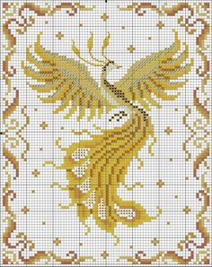 20 Ideas for crochet blanket pattern harry potter Dragon Cross Stitch, Cross Stitch Animals, Cross Stitch Flowers, Cross Stitch Charts, Cross Stitch Designs, Cross Stitch Patterns, Loom Patterns, Cross Stitching, Cross Stitch Embroidery