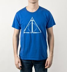 Geeky Hallows - BustedTees - Image 1