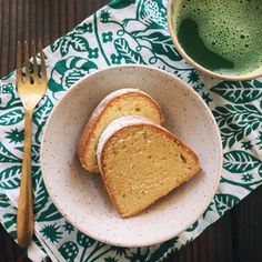 Sake Kasu Pound Cake @sweetsnbitters
