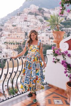 Positano One Year Later - Gal Meets Glam Summer Outfits, Summer Dresses, Gal Meets Glam, Preppy Style, Latest Fashion For Women, Style Guides, Dress To Impress, Dress Outfits, Maxi Dresses