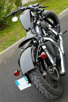 Bobber Motorcycle, Motorcycle Clubs, Cool Motorcycles, Custom Bobber, Custom Bikes, Harley Sportster 48, Harley 1200, Bobber Style, Easy Rider
