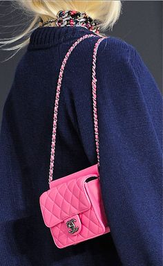 Pink Chanel, fall 2013