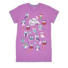 Choose from a wide selection of Hatley Nature Nightshirts for adults and kids. We love our matching family Hatley Nature Nightshirts always perfect for any season. Women's Sleep Shirts, Night Shirts For Women, Pajama Day, Happy Mothers Day, Night Gown, Mens Tops, Cotton, Stuff To Buy, Owl