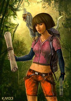 Dora the Tomb Raider