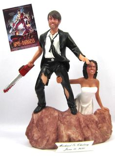 10 Romantically Nerdy Wedding Cake Toppers - Topless Robot - Nerd news, humor and self-loathing.