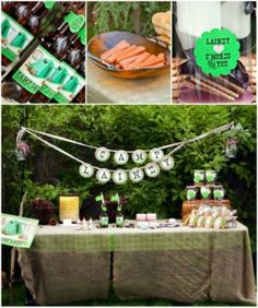 cute camping party theme by Loralee Lewis by imogene