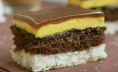 Kolač noc u Veneciji – Savrseni recepti Slovak Recipes, Czech Recipes, Torte Cake, Cake Bars, Baking Recipes, Cookie Recipes, Dessert Recipes, Sweet Desserts, Sweet Recipes