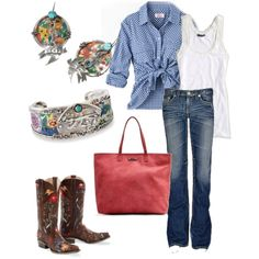 Love this cowgirl outfit!