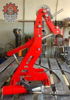 Гидравлический трубогиб BigBender Mk2 | BigBender Mk2 hydraulic tubing bender
