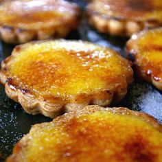 """Creme Brulee Tartlets-- I didn't really like any of the parts of this recipe. I'm going to stick with my regular creme brulee recipes, and I'll have to tweak it myself to make them """"tarts""""-Jenni"""