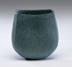 Masterworks: John Ward Vase with Blue Glaze - Jun 2011 John Ward, Incredible Gifts, Glass Floor, Ceramics Projects, Contemporary Ceramics, Ceramic Artists, Decorative Objects, Art Studios, Pottery Art