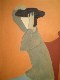 Woman With A Hat, 1945 // It's About Time: The Paintings of American Milton Avery 1888-1965