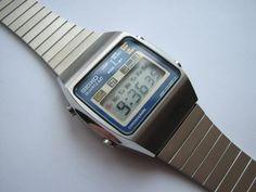 Seiko LCD vintage, lo más.