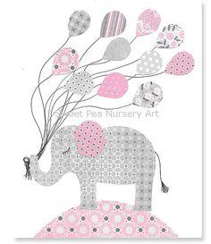 Kinderzimmer Wanddekoration Elefant Kinderzimmer Dekor