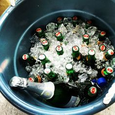 Sat bbq and beer!#dosequis#beer#champagne#drink#bbq#Saturday#sandiego#miramesa#fun#faded#drinksup#letsdothis