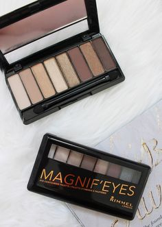 RIMMEL   Magnif'eyes Contouring Eye Palettes - Review + Swatches - CassandraMyee - INTERNATIONAL GIVEAWAY