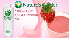 Strawberry Shake Fragrance Oil- Natures Garden #fragranceoil #fragrances #soapmaking Sand Candles, Strawberry Garden, Bath Bomb Recipes, Soap Making Supplies, Best Fragrances, Candlemaking, Fragrance Oil, Lotion, Peach