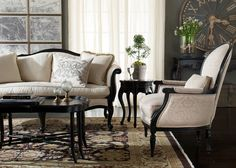 <p>Ahead of the style curve. Nineteenth century French chinoiserie was the inspiration for this table's design. Five curvy cabriole legs meet a serpentine tabletop for an overall form that&#8217