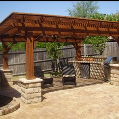 #PinMyDreamBackyard Outdoor kitchen :)
