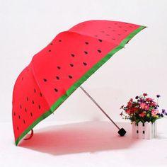 Rainy, rain, rainy season, rainfall, umbrella, watermelon