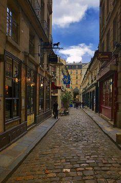 cour du Commerce-Saint-André - Paris 6e