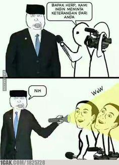 Memes indonesia kocak 58 New Ideas Memes Humor, New Memes, Man Humor, Rage Comic, Single Humor, Cartoon Jokes, Good Jokes, Relationship Memes, Naha