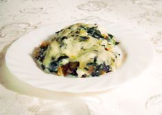 Healthy spinach recipe - potatoes and spinach casserole #healthyrecipes #spinachrecipes #potatoesrecipes