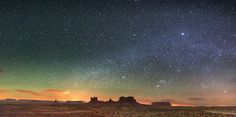Monument Valley panorama from Utah